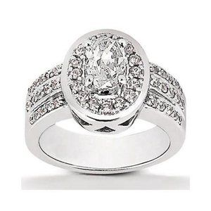 2.51 ct. diamonds solitaire ring with accents big